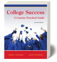 Cover for College Success: A Concise Practical Guide 7