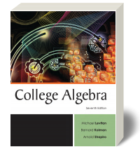Cover for College Algebra 7