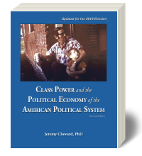 Cover for Class Power and the Political Economy of the American Political System 2