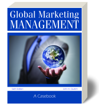 Cover for Global Marketing Management: A Casebook 6