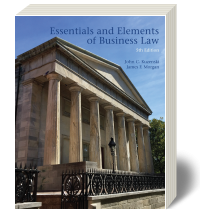 Cover for Essentials and Elements of Business Law 5
