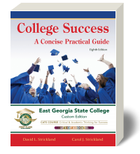 Cover for College Success: A Concise Practical Guide - East Georgia State College Custom Edition 8
