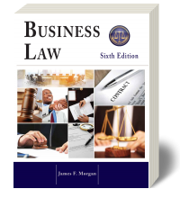 Cover for Business Law 6