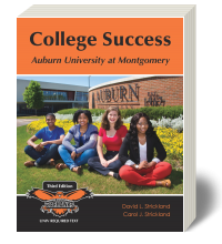 Cover for College Success: Auburn University at Montgomery 3