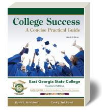 Cover for College Success: A Concise Practical Guide - East Georgia State College Custom Edition 9