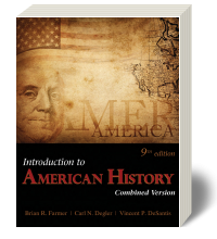 Cover for Introduction to American History Combined Version 9