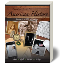 Introduction to American History Vol 2 8 - Soft Cover Textbook