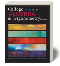 College Algebra & Trigonometry 6 - Loose-Leaf