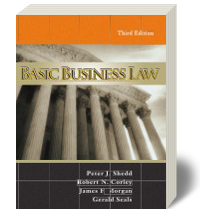 Cover for Basic Business Law 3