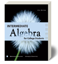 Intermediate Algebra for College Students 6 - Soft Cover Textbook