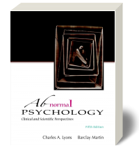 Cover for Abnormal Psychology: Clinical and Scientific Perspectives 5