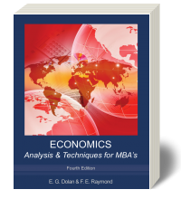Cover for Economics Analysis and Techniques for MBA's 4