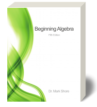 Cover for Beginning Algebra 5