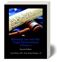 Cover for Business Law and The Legal Environment Volume 1 2