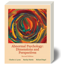 Cover for Abnormal Psychology: A Dimensional Approach 2