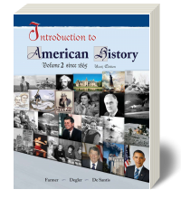 Introduction to American History Volume 2 9e - Textbook