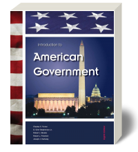 Cover for Introduction to American Government 8