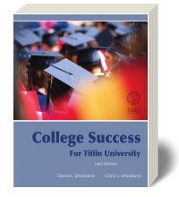Cover for College Success for Tiffin University 1