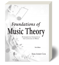 Cover for Foundations of Music Theory 1